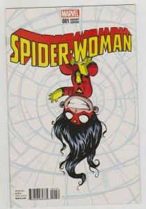 SPIDER-WOMAN #1 SCOTTIE YOUNG VARIANT 2015 MARVEL COMICS
