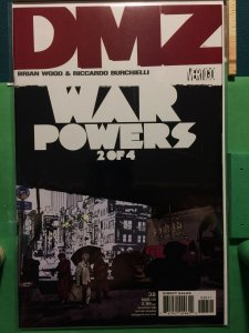 DMZ #38 War Powers 2 of 4