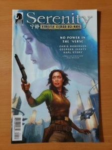 Serenity: Firefly Class 03-K64 #4 No Power in the 'Verse ~ NEAR MINT NM ~ 2017