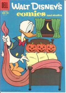 WALT DISNEYS COMICS & STORIES 217 VG-F  Oct. 1958 COMICS BOOK