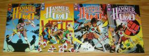 Hammer of God #1-4 VF/NM complete series - mike baron - nexus spin-off set lot