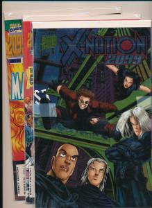 MARVEL COMICS X-NATION 2099 LOT #1,#4,#5   VERY FINE/NEAR MINT (HX649)
