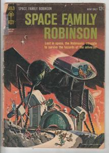 Space Family Robinson, Lost In Space #2 (Mar-63) GD- Affordable-Grade Will Ro...