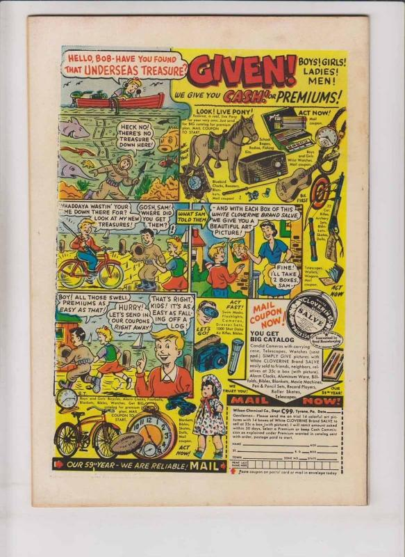 Space Adventures #13 FN october 1954 - blue beetle - golden age charlton comics