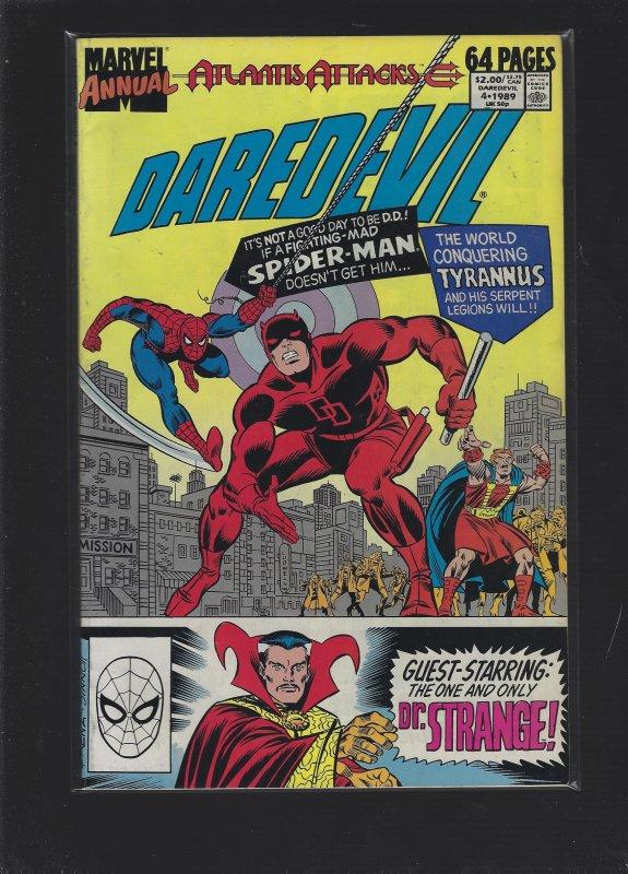 Daredevil Annual #4 (1989)