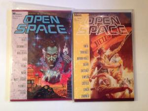 Open Space 1-4 Complete Near Mint Lot Set Run
