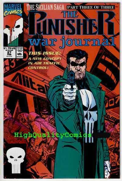 PUNISHER WAR JOURNAL #27, NM+, Mike Baron, Mark Texeira, more in store