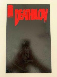 Death Blow #1 Black Cover Image  Comics NM