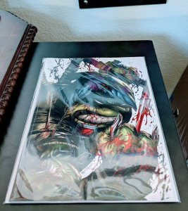 Last Ronin #4. Kirkham Exclusive. Limited 550! Only 2 left!