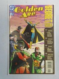 Golden Age Secret Files #1 6.0 FN (2001)
