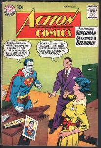 ACTION COMICS #264-1960-BIZARRO-SUPERMAN-DC SILVER AGE-VG VG