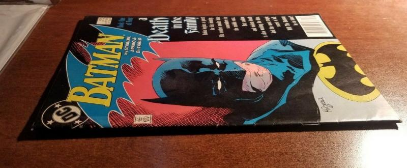 Batman #426 - A Death in the Family - VF