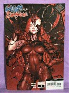 King in Black GWENOM vs CARNAGE #1 Inhyuk Lee 2nd Print Variant (Marvel, 2021)!