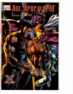 6 Marvel Comics Age Of Apocalypse 1 One Shot + # 2 3 4 5 + X-Men Universe 1 J258