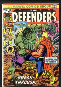 The Defenders #10 (1973)