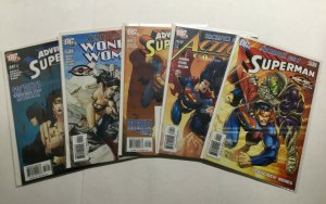 Superman Sacrifice Omac Project Tie-in 1-5 219 824 642 WW219 643 Lot Nm Dc Comic