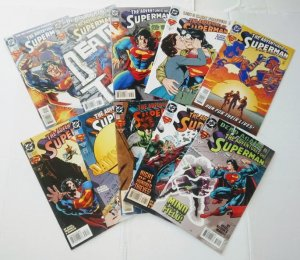 Adventures of Superman Comic Book Lot of 10  (cl#05)