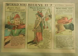 Would You Believe It? by J. Carroll Mansfield from 1940 Half Page Size