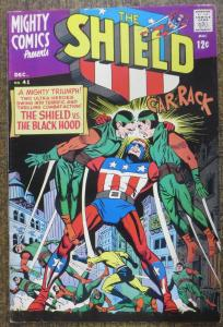 MIGHTY COMICS PRESENTS #41 (Archie/MCG, 12/1966) F-VF The SHIELD! Jerry Siegel