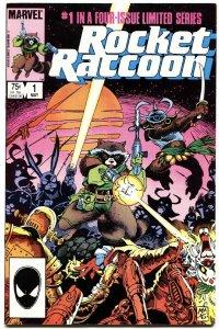 ROCKET RACCOON #1-FIRST ISSUE-MARVEL-KEY-HIGH GRADE-GOTG!
