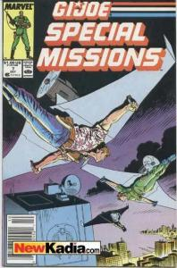 G.I. Joe Special Missions (1986 series) #7, VF+ (Stock photo)