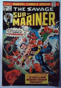 Sub-Mariner #71 (1974)