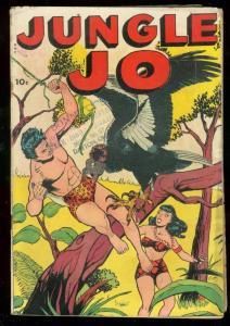 JUNGLE JO COMICS 1950-VULTURE ATTACK-BOUND BABE-SNAKES VG-