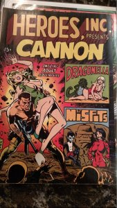 HEROES, INC. PRESENTS CANNON #1 (Wood,1969) Condition NM