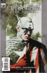 Captain America: The Chosen #2 VF/NM; Marvel | save on shipping - details inside