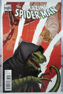 AMAZING SPIDER-MAN 630 LIZARD VARIANT NM.