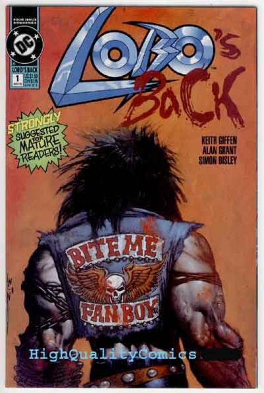 LOBO BACK's #1 2 3 4, NM, Simon Bisley, 1992, Alan Grant, Frag, more in stor