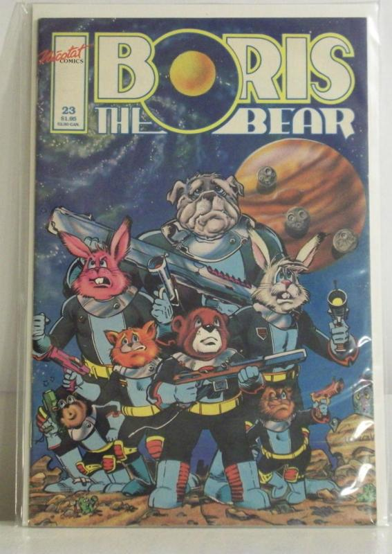 BORIS the BEAR #23, VF/NM, Lost Critter, 1986 1989, Parody, more indies in store