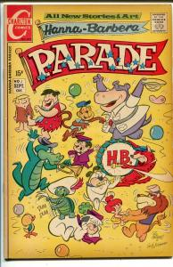 Hanna-Barbera Parade #1 1971-Charlton-1st issue-Flintstones-Dr Monk-VF