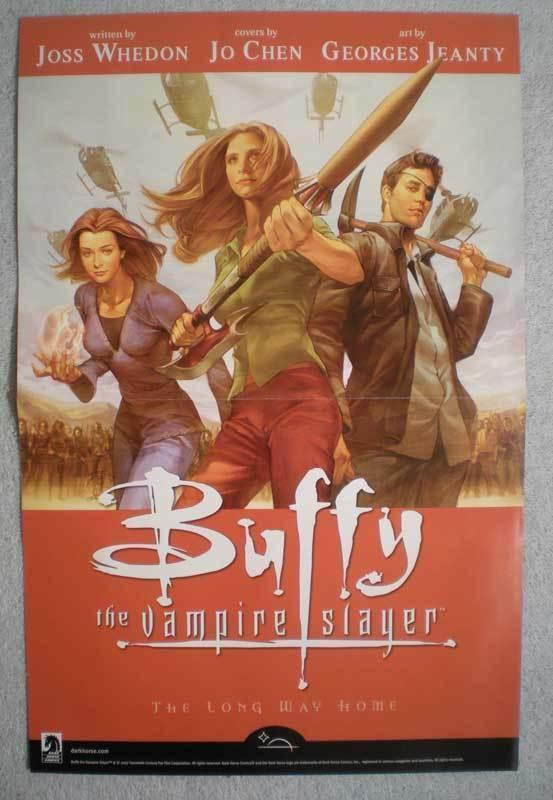 BUFFY THE VAMPIRE SLAYER / GRENDEL Promo Poster, Unused, more in our store