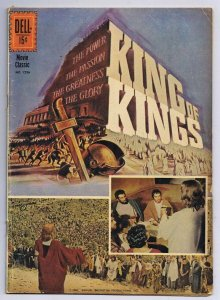 Four Color #1236 King of Kings Movie ORIGINAL Vintage 1961 Dell Comics
