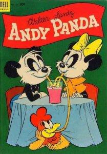 Andy Panda #24, Good- (Stock photo)
