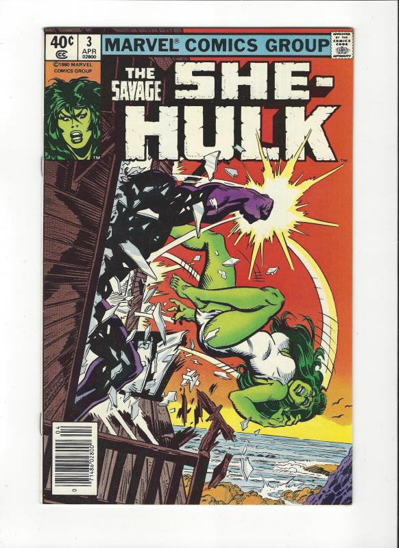 SHE HULK 1ST SERIES #3 VF