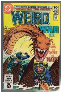 WEIRD WAR TALES (1972) 106 F-VF Dec. 1981