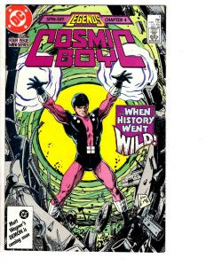 4 Cosmic Boy DC Comic Books # 1 2 3 4 Levitz Giffen Colon Smith Legends WT12