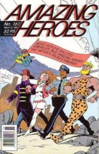 AMAZING HEROES 161 (3/15/89) VF-NM Lee/ Kirby Avengers;