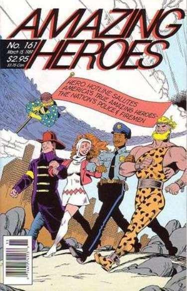 AMAZING HEROES 161 (3/15/89) VF-NM Lee/ Kirby Avengers;