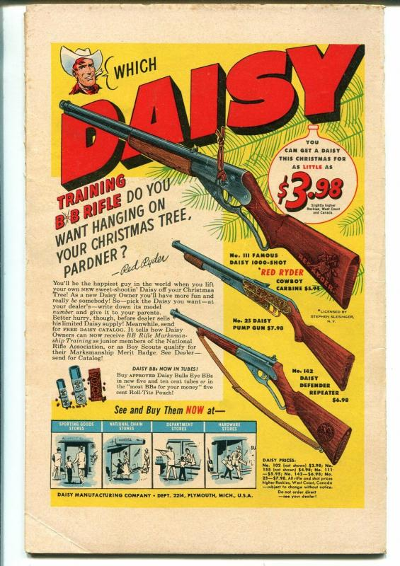 Sparkler #115 1954-Nancy-Sluggo-sci-fi cover-Casey Ruggles-Warren Tufts-VG