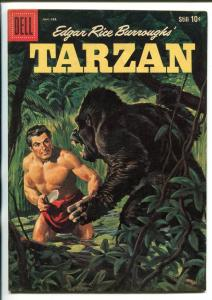 TARZAN #116-1960-DELL-PAINTED COVER- BURROUGHS- MARSH- MANNING-vf