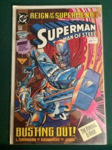 Superman The Man of Steel #22 Reign of the Supermen