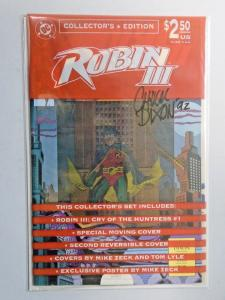 Robin 3 III Cry of the Huntress Collector's Edition #1 - signed -  - 8.0 - 1992