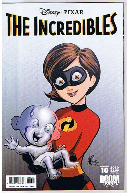The INCREDIBLES #10 B, NM, Disney Pixar, Boom Studios, 2009, more in store