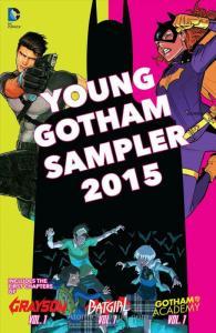Young Gotham Sampler #2015 FN; DC   save on shipping - details inside