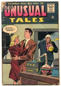 Unusual Tales #2 1956- Charlton comics- Madame Futura VG-