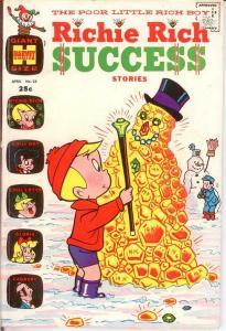 RICHIE RICH SUCCESS STORIES (1964-1982) 25 VG Apr.1969 COMICS BOOK