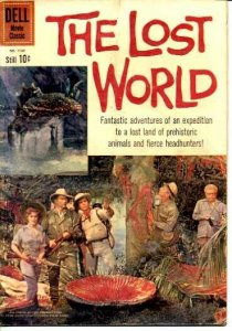 LOST WORLD, THE-DELL #1145-MOVIE EDITION VG